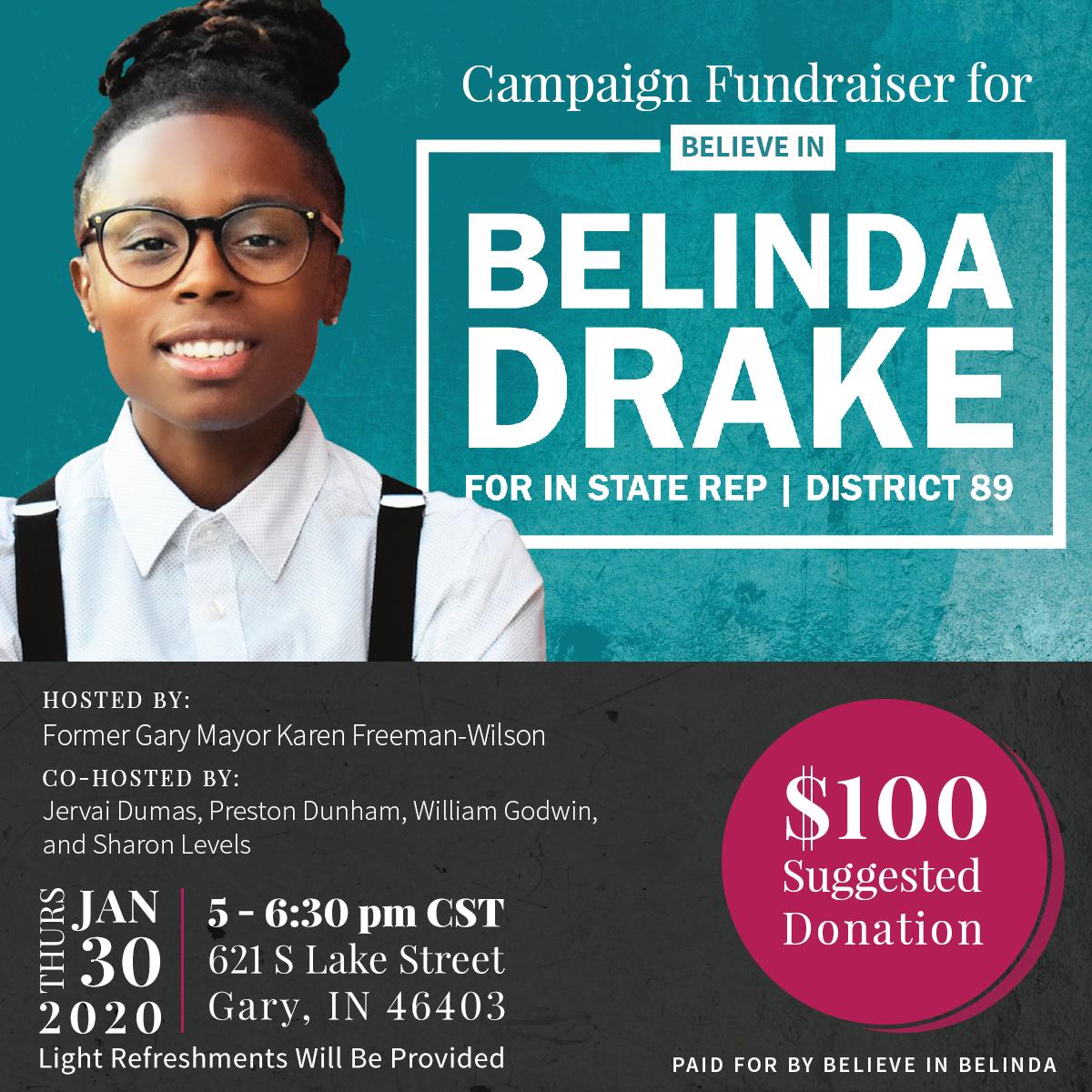 Gary, Indiana Fundraiser for Belinda
