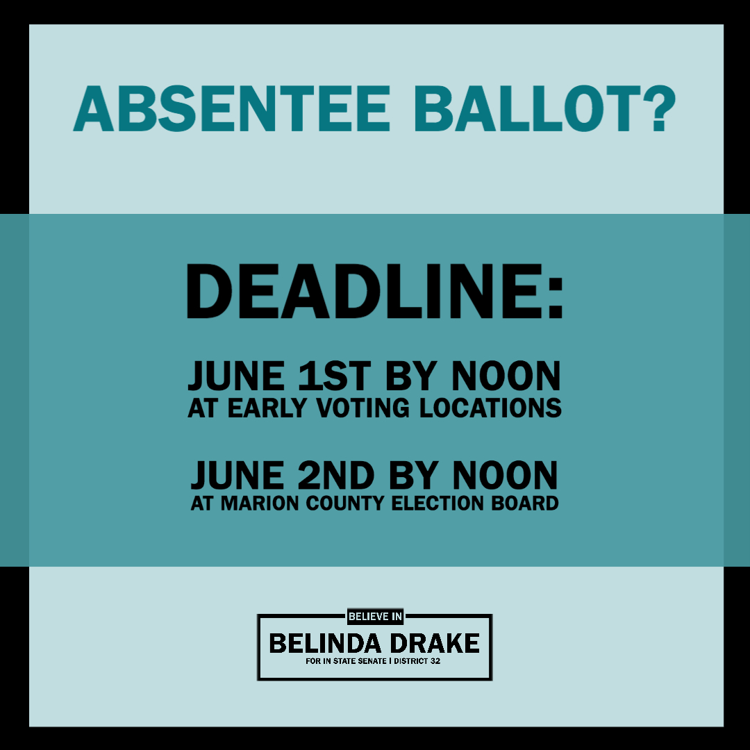 Absentee Ballot Voting Info for Marion County Indiana